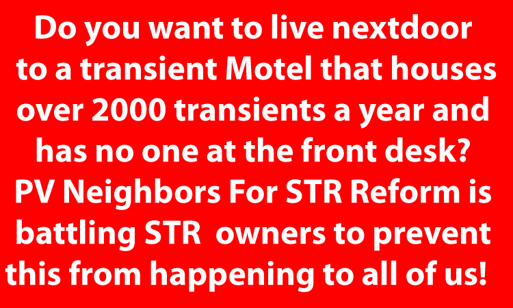 Point Venture TX STR Problems STR Owners Sue Their Neighbors